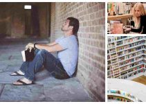 Bible store collage