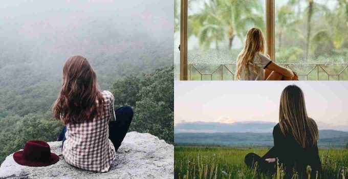 Women Outdoors Collage